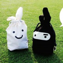 Ninja Rabbit Mini Storage Bag (2 units)