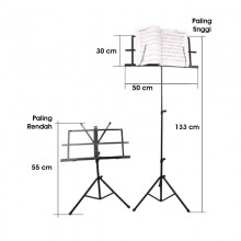 Adjustable Folding Music Stand